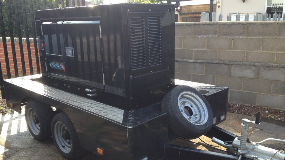Worcestershire Stage Hire 20KVA Generator