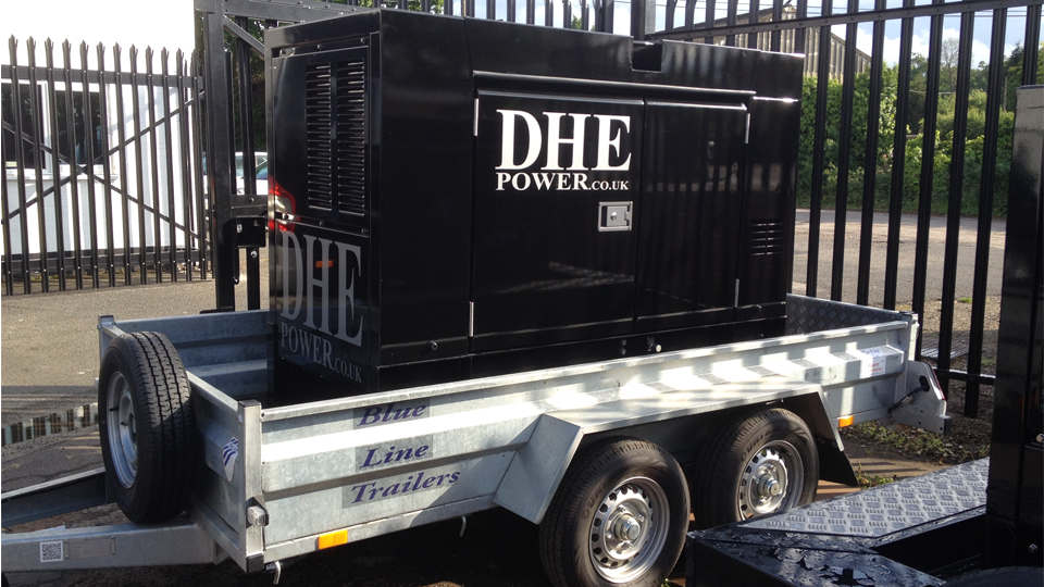 Worcestershire Stage Hire 60KVA Generator