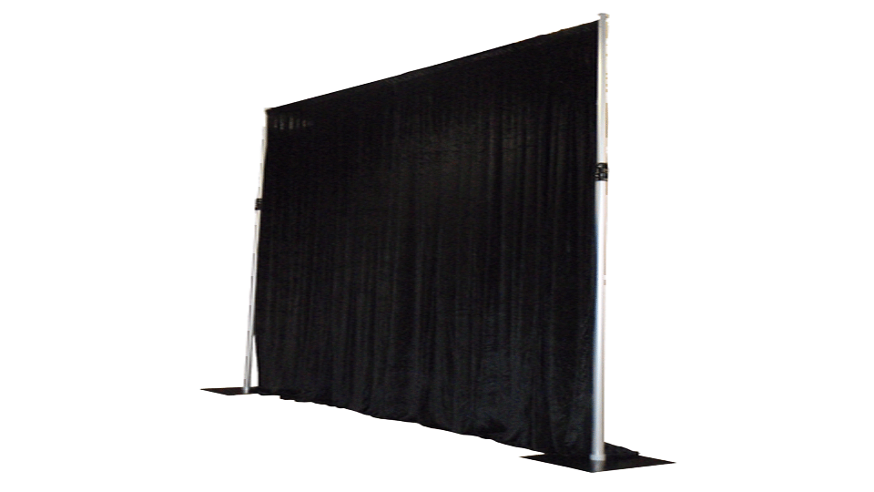 Catwalk Hire 4 with drapes